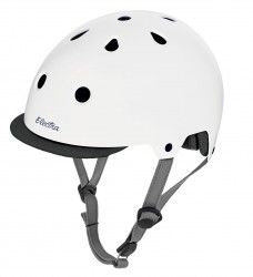 Electra Solid Color Helmet gloss white