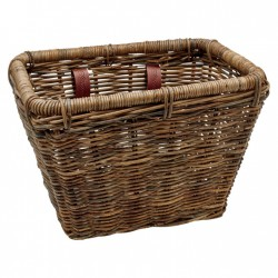 Basket Electra Rattan Rectangular Brown