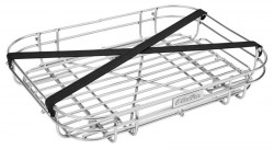 Electra wired front tray, silver