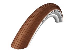 Schwalbe Reifen Fat Frank 26x2.35 braun/weisswand, Reflex