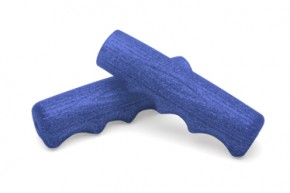 Classic Finger Groove Grips, blue