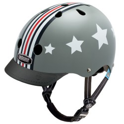Nutcase Helm Little Nutty G3 Silver Fly