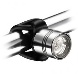 Lezyne Frontlicht CNC Femto Drive LED, silver polish glänzend