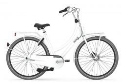 Gazelle Puur.NL premium white glänzend 54 cm
