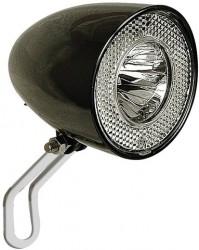 LED Scheinwerfer Retro Classic N+ schwarz, Contec