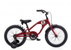 "Electra Kinderrad Straight 8 16"" red"