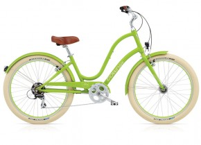 Electra Townie Balloon 8D EQ lime ladies'