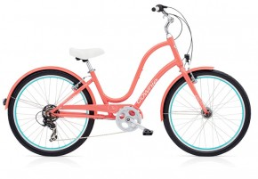 Electra Townie Original 7D EQ coral ladies´