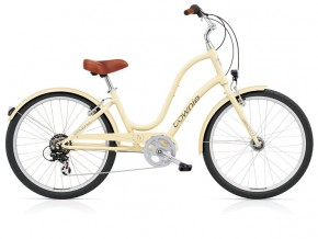 "Electra Townie Original 7D EQ 24"" vanilla ladies'"
