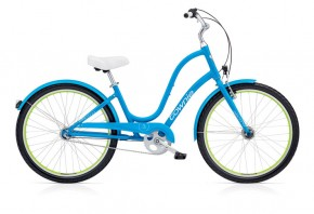 Electra Townie Original 3i EQ caribbean blue ladies'