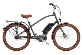 Electra Townie Go! 8i BOSCH men´s army grey