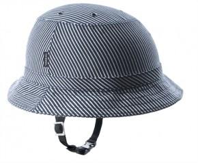 Yakkay Helm Überzug Tokyo Blue Stripes