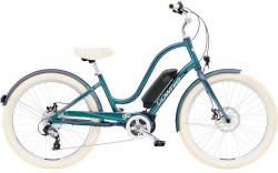 Electra Townie Go! 8D EQ ladies' aurora metallic