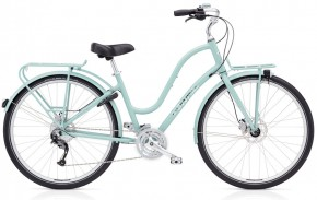 Electra Townie Commute 27D ladies, mineral blue