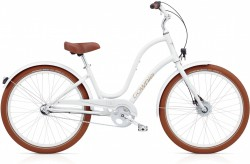 Electra Townie Balloon 3i EQ white ladies'
