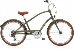 Electra Townie Original 7D EQ matte khaki men´s