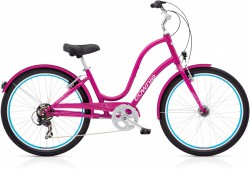 Electra Townie Original 7D EQ raspberry metallic ladies'