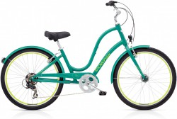 Electra Townie Original 7D EQ teal green ladies'
