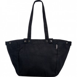 Electra Waxed Canvas Basket Bag Black