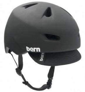 Bern Brentwood matte black w/ Visor