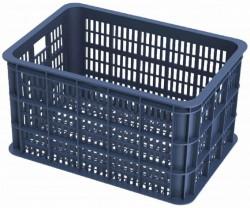 Basil Crate L Fahrradkisten blau