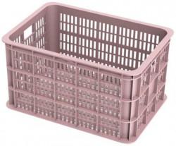 Basil Crate L Fahrradkisten rosa