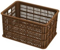 Basil Crate L Fahrradkisten braun