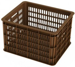 Basil Crate M Fahrradkisten braun