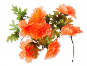 Peonie Girlande orange