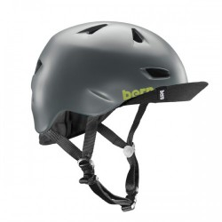Bern Brentwood matte grey w/ flip visor