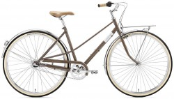 Creme Caferacer Ladies Solo 7 Speed warm grey 48,5 cm