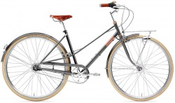 Creme Caferacer Ladies Doppio 7-Speed Dynamo Black Rose