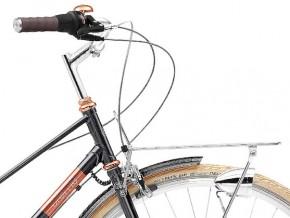 Creme Caferacer Ladies Doppio 7-Speed Dynamo sparkling black copper 44,5 cm