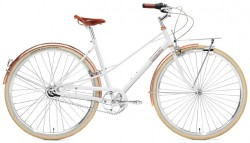 Creme Caferacer Ladies Doppio 7 Speed white rose