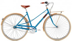 Creme Caferacer Ladies Doppio 7 Speed azure
