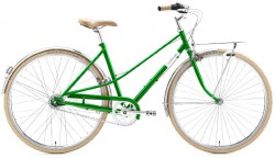 Creme Caferacer Ladies Solo 7 emerald