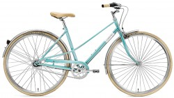 Creme Caferacer Ladies Uno 3 turquoise