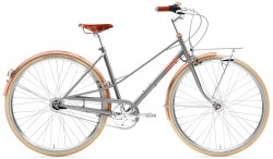 Creme Caferacer Ladies Doppio 7-Speed Dynamo Gray Rose