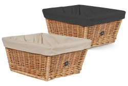 Creme Wicked Basket rack top w/inlay