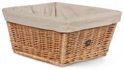 Creme Wicked Basket rack top w/inlay naturbeige