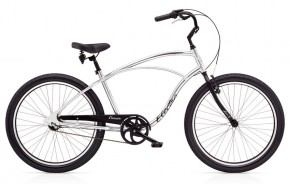 Electra Cruiser Lux 3i Men´s polished silver