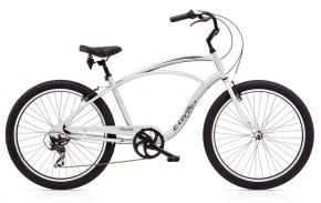 Electra Cruiser Lux 7D Men´s polished silver