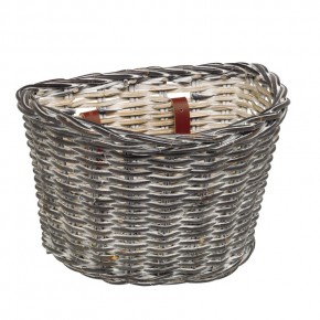 Electra Korb Wicker Basket black