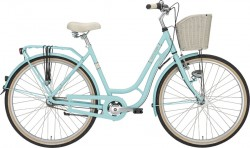 "Excelsior Swan Retro 26"" Alu 7-Gang, light blue"