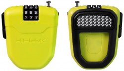 Hiplok FX combination cable lock lime