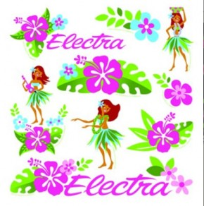 Stickerset Hula