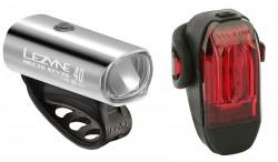 Lezyne Beleuchtungsset LED Hecto und KTV silver
