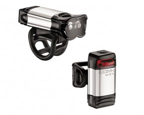 Lezyne Beleuchtungsset KTV Drive Pro+ KTV Drive LED, polish-glänzend