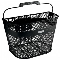 Electra Linear QR Basket, black