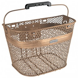 Electra Linear QR Basket, matte copper
